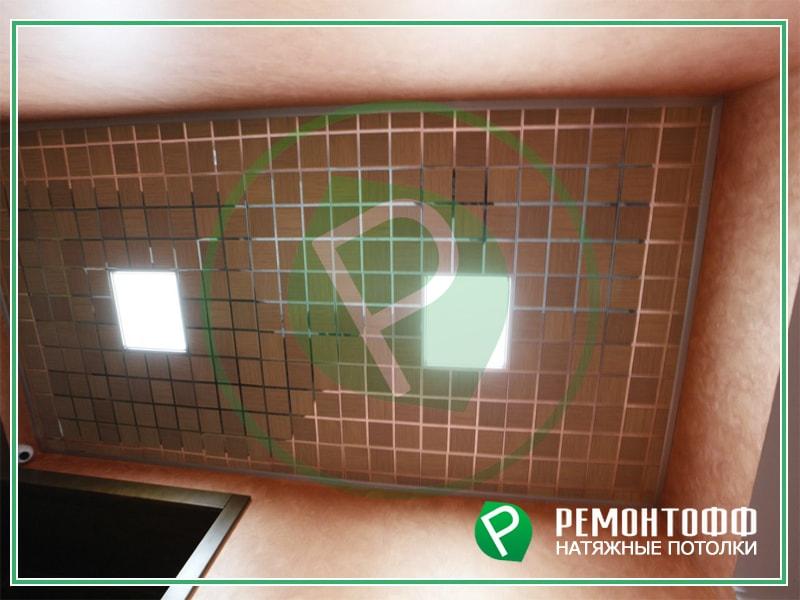 Подвесной потолок 6м2. Фото отделки потолка, подвесной потолок Армстронг. Рассчитаем стоимость ремонта Вашего потолка в день обращения.