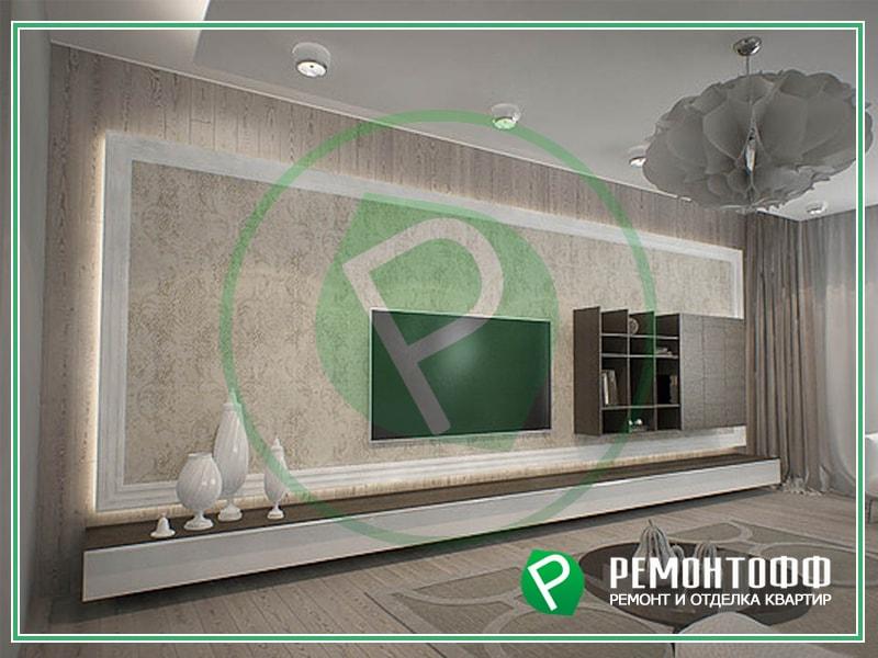 Дизайн квартиры 66м2. Дизайн интерьера в минималистичном стиле. Индивидуальная разработка дизайна интерьера под ключ. Обращайтесь к профессионалам.